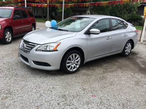 2013 Nissan Sentra for sale at Antique Motors in Plymouth IN