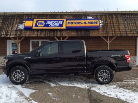 2019 Ford F-150 for sale at MOTORS N MORE in Brainerd MN
