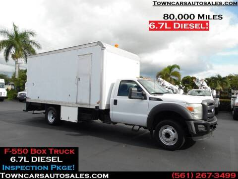 2011 Ford F-550 Super Duty for sale at Town Cars Auto Sales in West Palm Beach FL