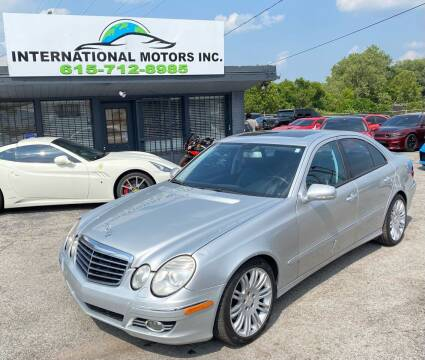 2008 Mercedes-Benz E-Class for sale at International Motors Inc. in Nashville TN
