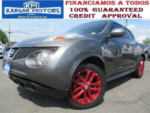 2013 Nissan JUKE for sale at Kargar Motors of Manassas in Manassas VA
