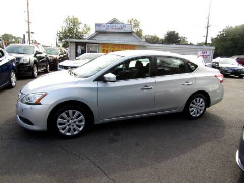 2015 Nissan Sentra for sale at American Auto Group Now in Maple Shade NJ
