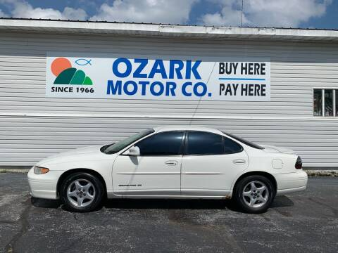 2002 Pontiac Grand Prix for sale at OZARK MOTOR CO in Springfield MO