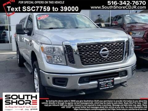 2018 Nissan Titan XD for sale at South Shore Chrysler Dodge Jeep Ram in Inwood NY