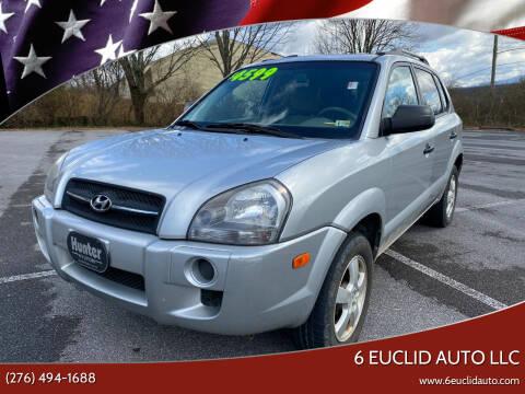 2008 Hyundai Tucson for sale at 6 Euclid Auto LLC in Bristol VA