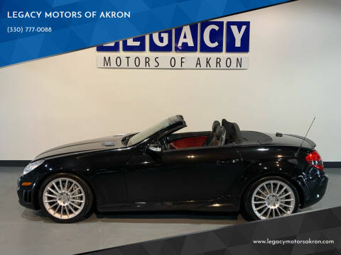 2005 Mercedes-Benz SLK for sale at LEGACY MOTORS OF AKRON in Akron OH
