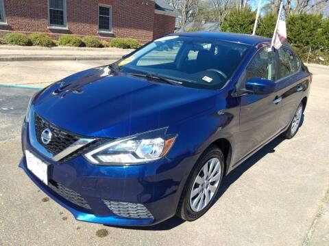 2016 Nissan Sentra for sale at Hilton Motors Inc. in Newport News VA