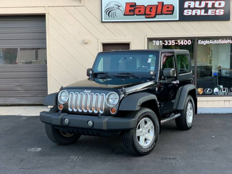 2013 Jeep Wrangler for sale at Eagle Auto Sales LLC in Holbrook MA