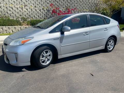 2013 Toyota Prius for sale at CALIFORNIA AUTO GROUP in San Diego CA