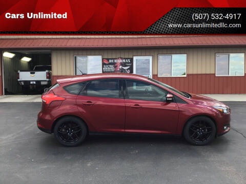 2016 Ford Focus for sale at Cars Unlimited in Marshall MN
