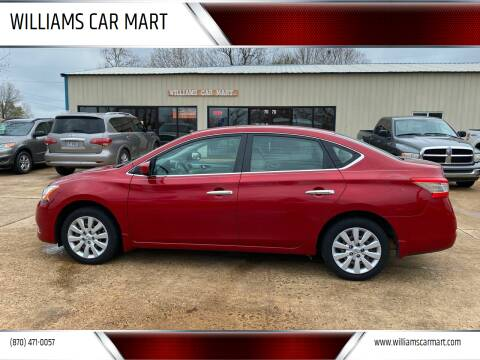 2014 Nissan Sentra for sale at WILLIAMS CAR MART in Gassville AR