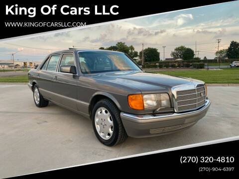 1987 Mercedes-Benz 500-Class for sale at King of Cars LLC in Bowling Green KY