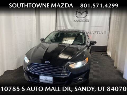 2015 Ford Fusion for sale at Southtowne Mazda of Sandy in Sandy UT
