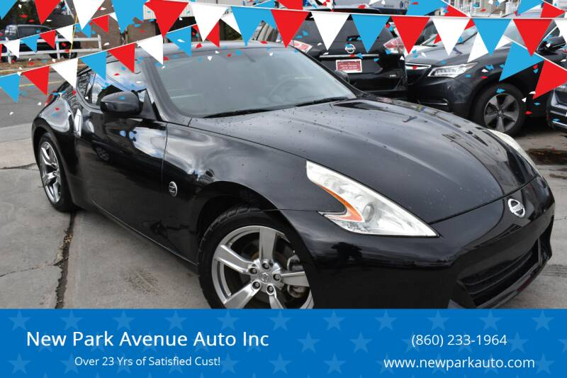 2009 Nissan 370Z for sale at New Park Avenue Auto Inc in Hartford CT