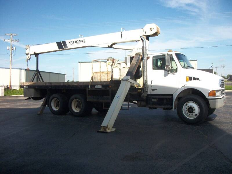 2003 Sterling M8500 Crane Truck for sale at Classics Truck and Equipment Sales in Cadiz KY