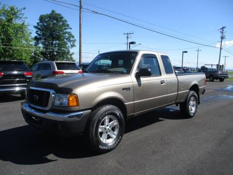 2004 Ford Ranger for sale at FINAL DRIVE AUTO SALES INC in Shippensburg PA