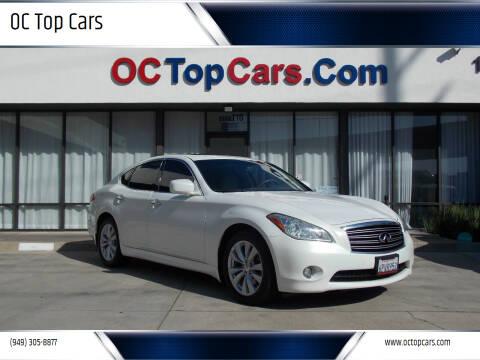 2011 Infiniti M37 for sale at OC Top Cars in Irvine CA