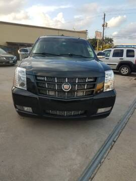 2014 Cadillac Escalade for sale at TEXAS MOTOR CARS in Houston TX
