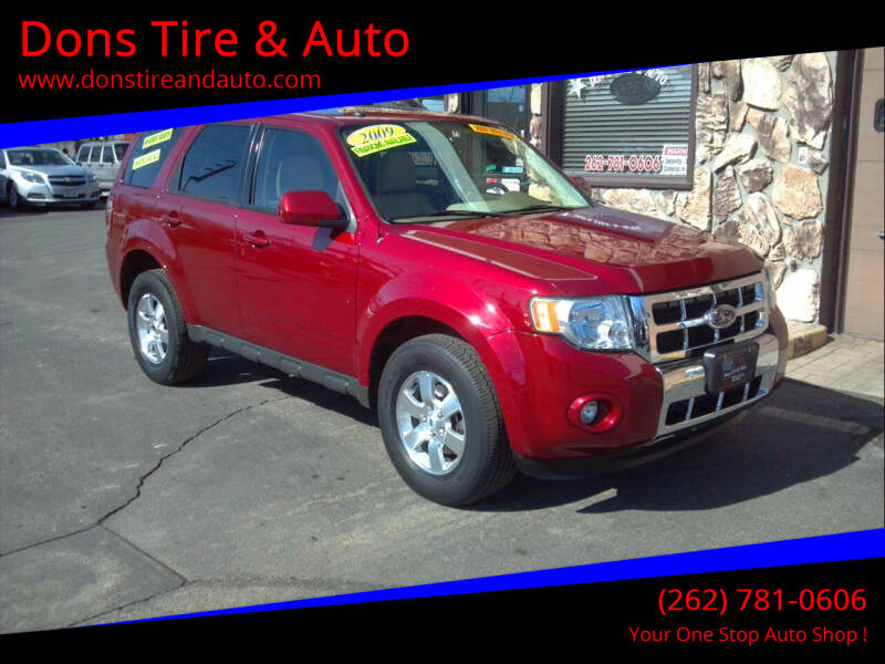 2009 Ford Escape for sale at Dons Tire & Auto in Butler WI