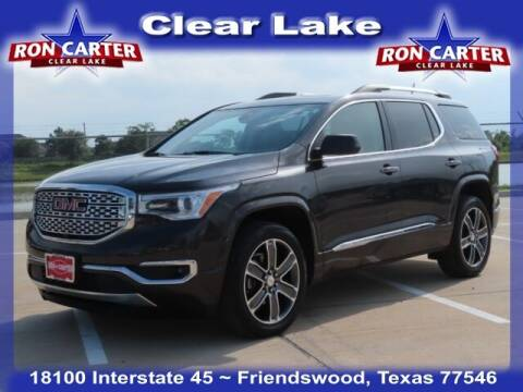 2019 GMC Acadia for sale at Ron Carter  Clear Lake Used Cars in Houston TX