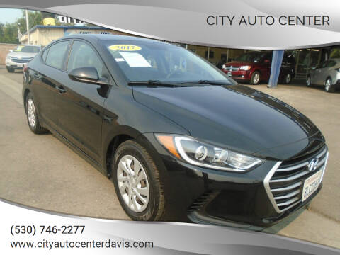 2017 Hyundai Elantra for sale at City Auto Center in Davis CA
