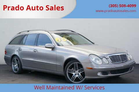 2005 Mercedes-Benz E-Class for sale at Prado Auto Sales in Miami FL