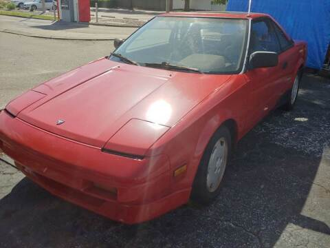 1988 Toyota MR2 for sale at Autos by Tom in Largo FL