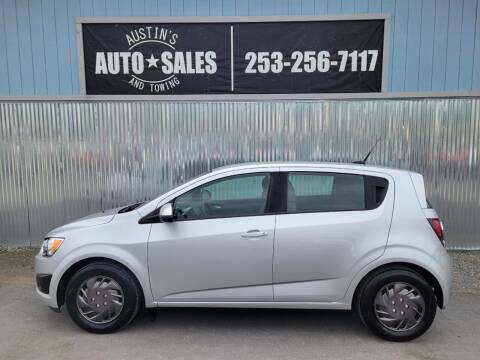 2013 Chevrolet Sonic for sale at Austin's Auto Sales in Edgewood WA