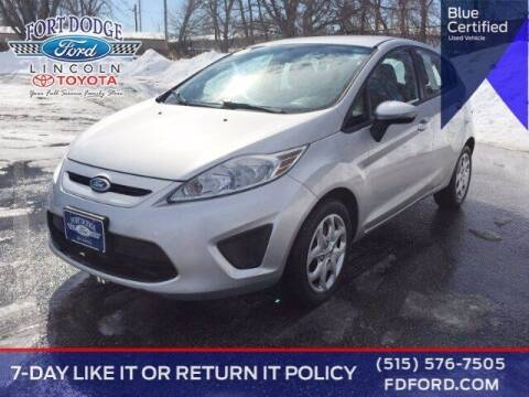 2013 Ford Fiesta for sale at Fort Dodge Ford Lincoln Toyota in Fort Dodge IA