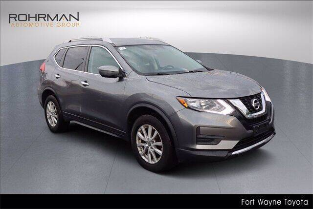 2017 Nissan Rogue for sale at BOB ROHRMAN FORT WAYNE TOYOTA in Fort Wayne IN