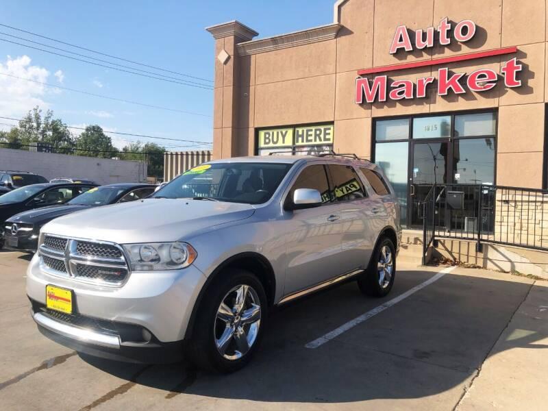 2013 Dodge Durango for sale at Auto Market in Oklahoma City OK