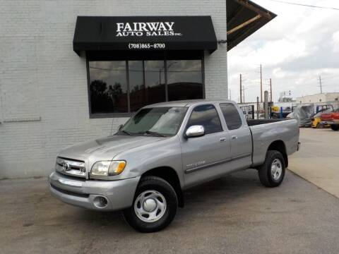 2003 Toyota Tundra for sale at FAIRWAY AUTO SALES, INC. in Melrose Park IL