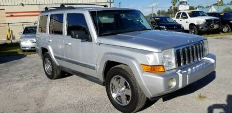 2009 Jeep Commander for sale at Marvin Motors in Kissimmee FL