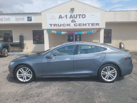 2014 Tesla Model S for sale at A-1 AUTO AND TRUCK CENTER in Memphis TN