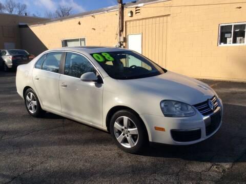 2008 Volkswagen Jetta for sale at North Chicago Car Sales Inc in Waukegan IL