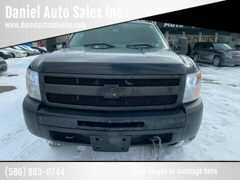 2012 Chevrolet Silverado 1500 for sale at Daniel Auto Sales inc in Clinton Township MI