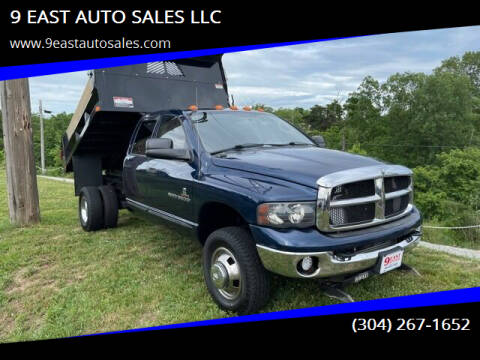 2005 Dodge Ram Pickup 3500 for sale at 9 EAST AUTO SALES LLC in Martinsburg WV