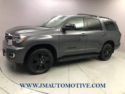 2018 Toyota Sequoia for sale at J & M Automotive in Naugatuck CT