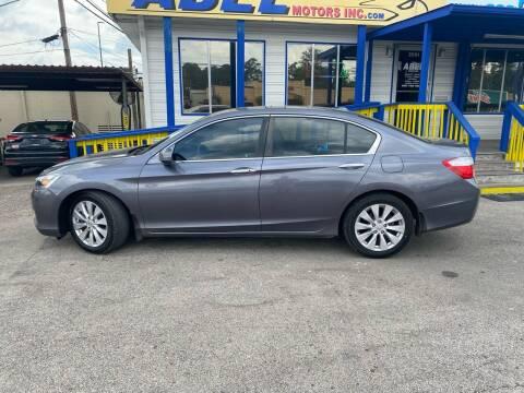2014 Honda Accord for sale at Abel Motors, Inc. in Conroe TX