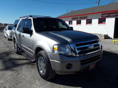 2008 Ford Expedition for sale at Sarpy County Motors in Springfield NE