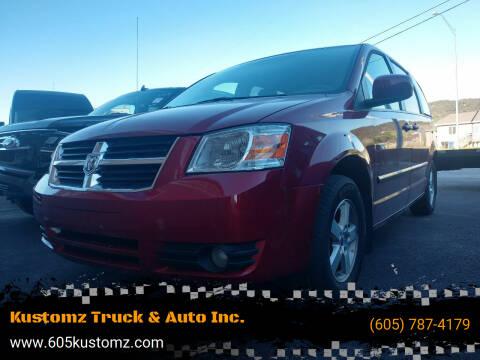 2008 Dodge Grand Caravan for sale at Kustomz Truck & Auto Inc. in Rapid City SD