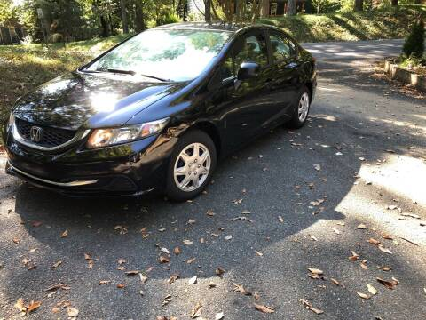 2013 Honda Civic for sale at REGIONAL AUTO CENTER in Fredericksburg VA