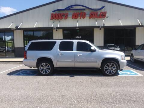 2012 Chevrolet Suburban for sale at DOUG'S AUTO SALES INC in Pleasant View TN