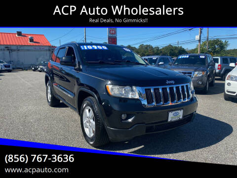 2011 Jeep Grand Cherokee for sale at ACP Auto Wholesalers in Berlin NJ