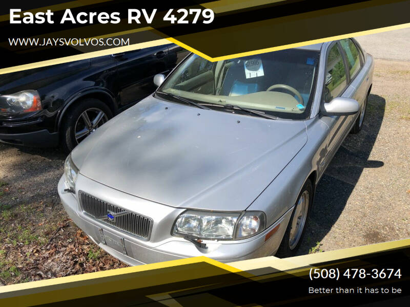 2003 Volvo S80 for sale at East Acres RV 4279 in Mendon MA