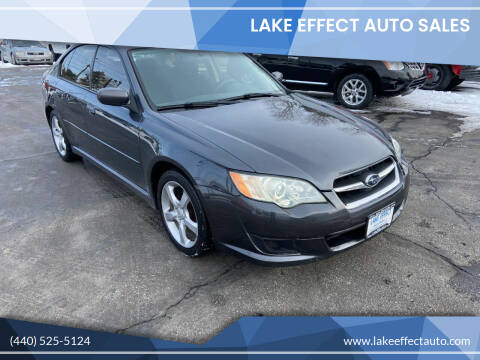 2009 Subaru Legacy for sale at Lake Effect Auto Sales in Chardon OH