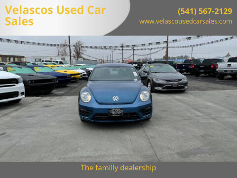 2017 Volkswagen Beetle for sale at Velascos Used Car Sales in Hermiston OR