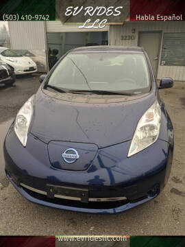 2017 Nissan LEAF for sale at EV RIDES LLC in Portland OR