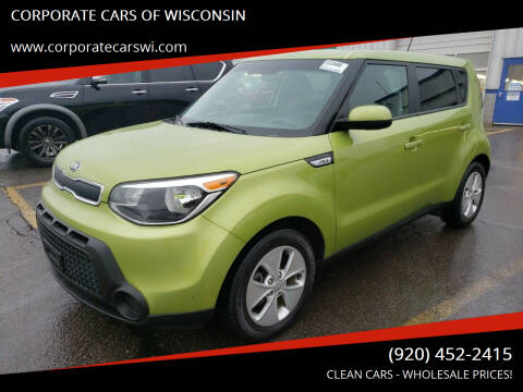2016 Kia Soul for sale at CORPORATE CARS OF WISCONSIN - DAVES AUTO SALES OF SHEBOYGAN in Sheboygan WI