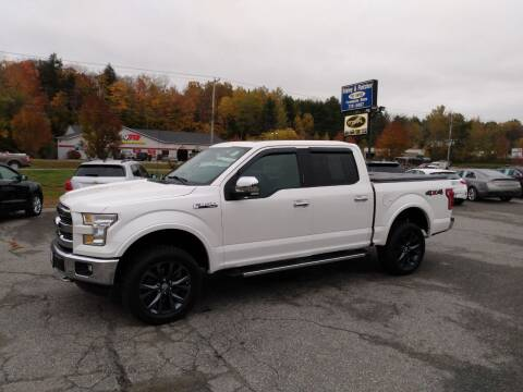 2016 Ford F-150 for sale at Ripley & Fletcher Pre-Owned Sales & Service in Farmington ME